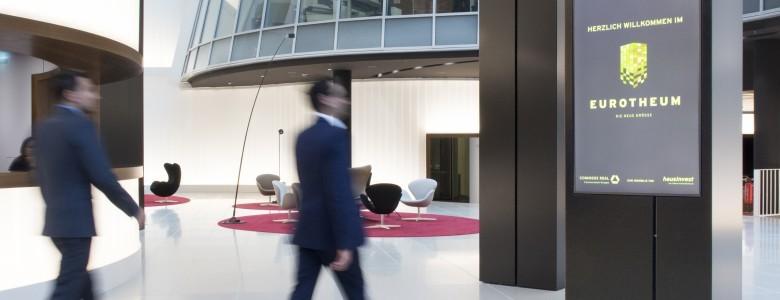 MIT DEM EUROTHEUM IN FRANKFURT GEWINNT ECN EIN ECHTES LANDMARK BUILDUNG