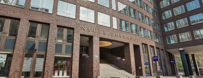 ECN stattet Neuen Dovenhof in Hamburg mit digitalem Bildschirmnetzwerk aus
